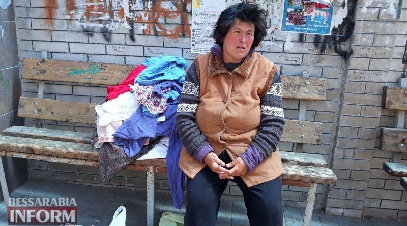 Пока мэр Абрамченко занят самопиаром, в Измаиле женщина ночует на улице