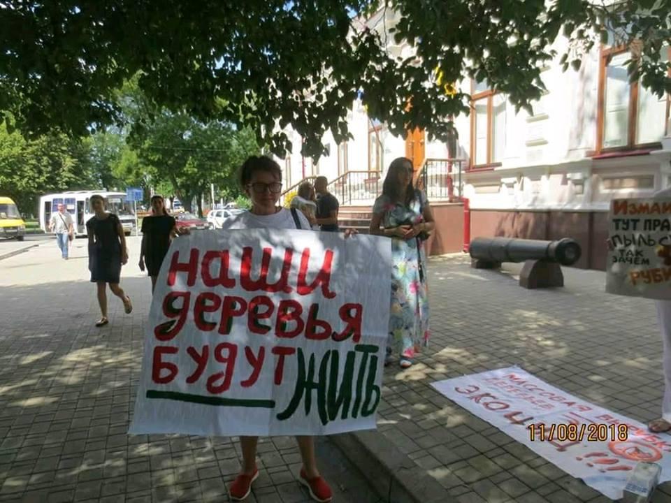 Ізмаїл: злочинна влада на чолі с мером може залишити місто без «зелених легенів»