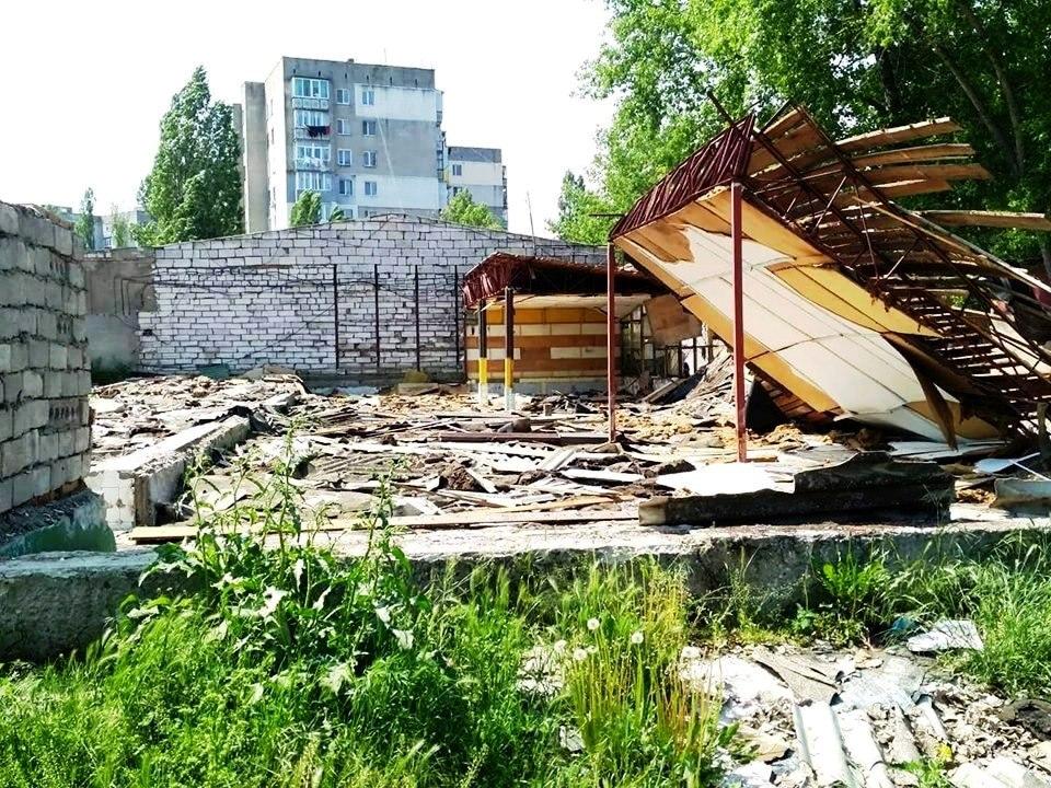 Пособники Виталия Барвиненко крадут металлолом в промышленных масштабах в Белгороде-Днестровском.